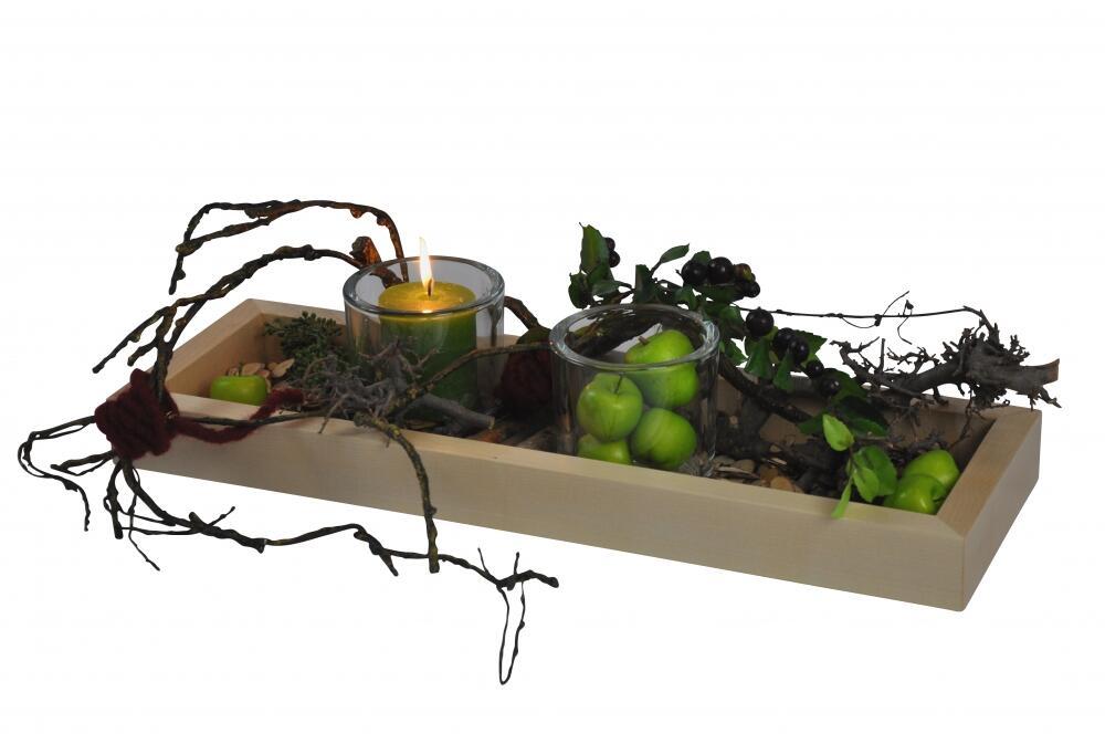 dekoschale aus natur lackiertem massivem ahornholz. Black Bedroom Furniture Sets. Home Design Ideas