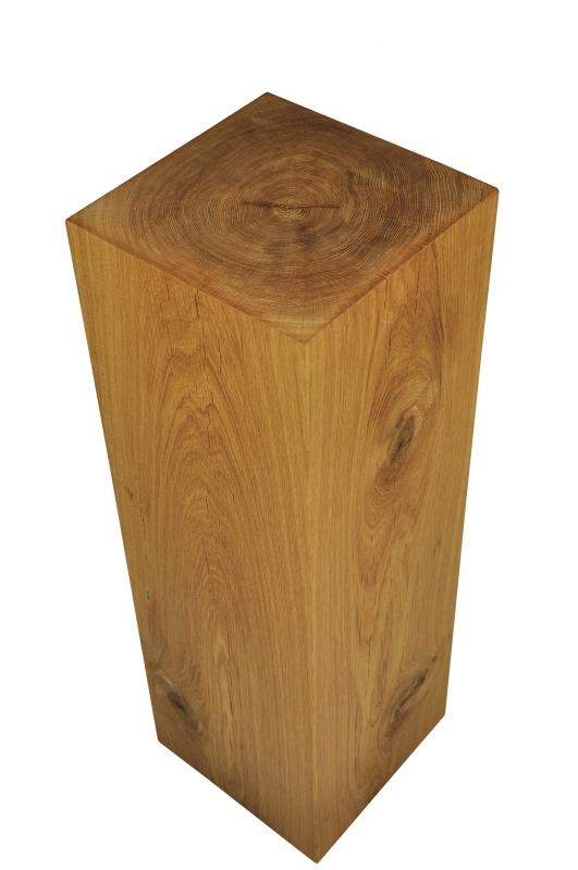 dekos ule aus holz geschliffene und ge lte eiche 76 cm. Black Bedroom Furniture Sets. Home Design Ideas
