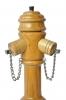 Pfeffermühle aus Holz - in Form eines Hydranten, Kirschbaum