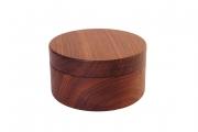 Holzdose aus Nussbaum gedrechselt
