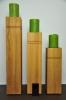 Grössenvergleich Dekosäule aus Holz - Handy