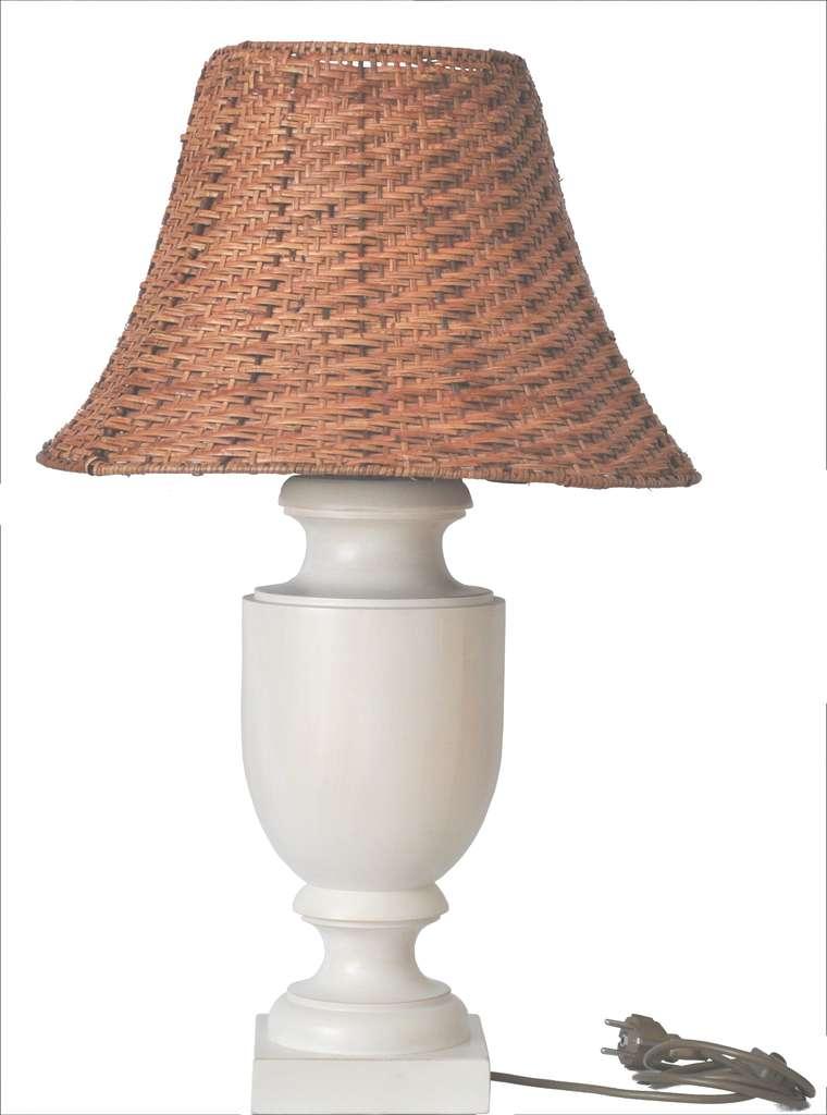 tischleuchte aus holz gedrechselt klassische form ohne lampenschirm. Black Bedroom Furniture Sets. Home Design Ideas