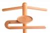 Jacken-Hosenbügel und Ablageschale von Massivholz Herrendiener