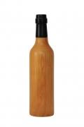Pfeffermühle aus Holz Weinflasche, Kirschbaum natur lackiert
